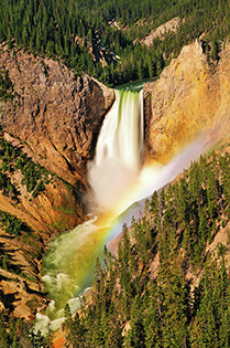 Lower Falls in Yellowstone National Park fine art nature prints
