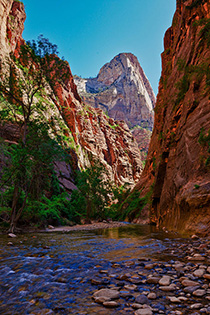 Approaching the Narrows in Zion National Park fine art nature prints