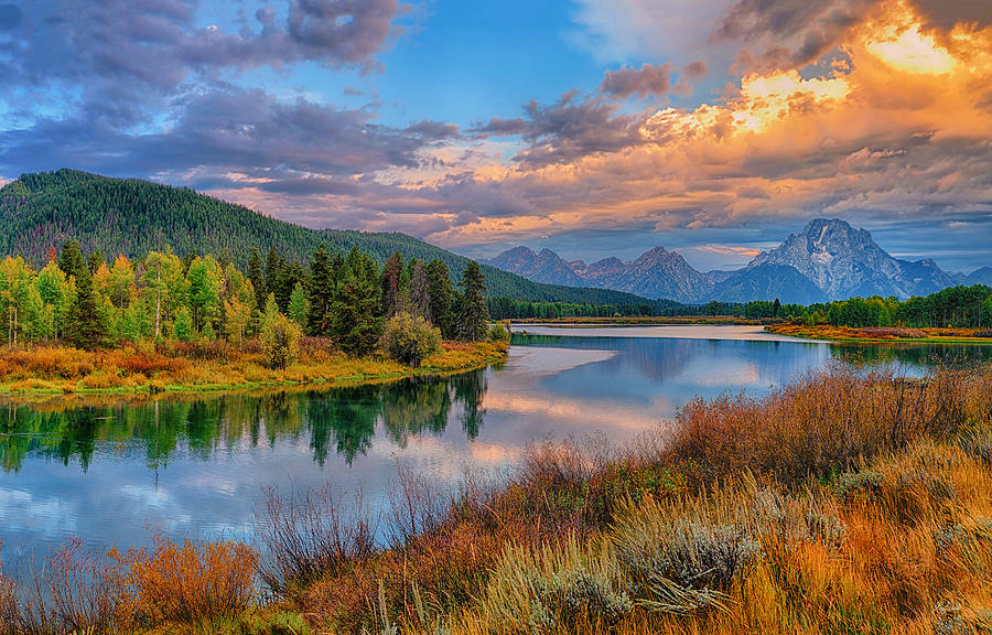 Autumn at Oxbow Bend Limited Edition fine art nature prints