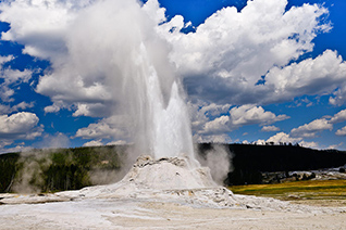 Castle Geyser Eruption fine art nature prints