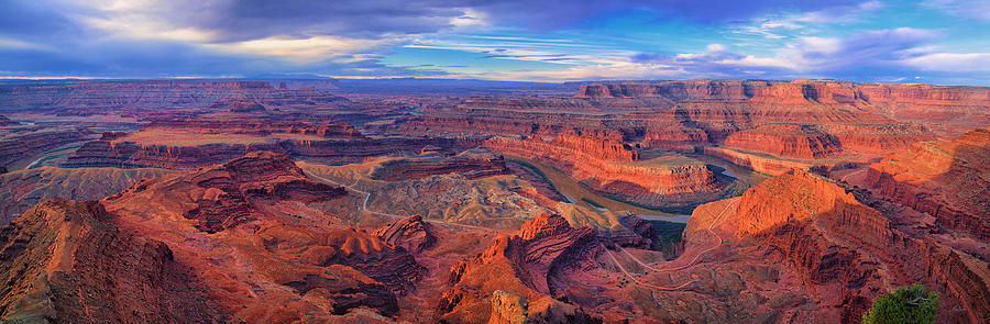Canyonlands Dead Horse Point Sunrise Panorama fine art nature prints