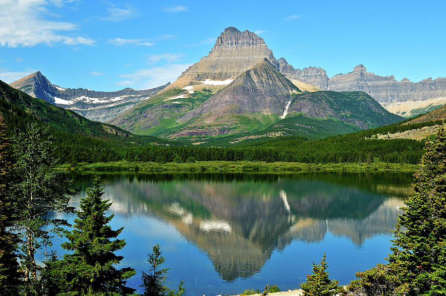 Glacier National Park Heavy Shield fine art nature prints