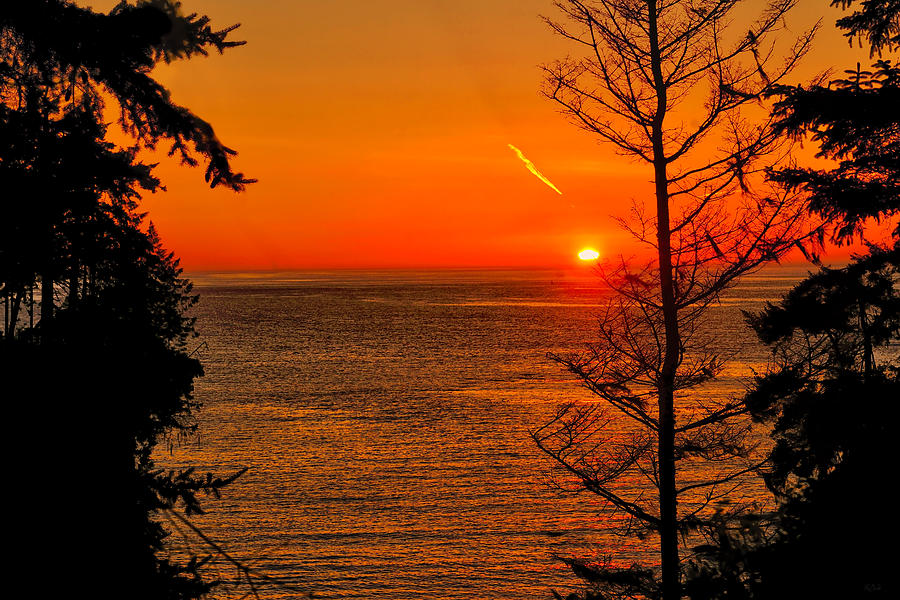 Juan De Fuca Sunset fine art nature prints