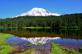 Rainier Reflections fine art nature prints