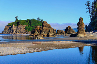 Ruby Beach Seastacks fine art nature prints