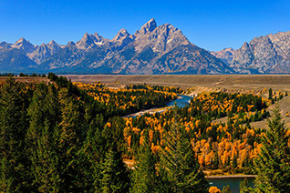 Snake River Overlook in autumn