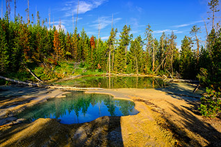 Norris Geyser Basin fine art nature prints