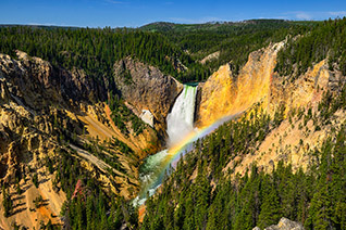 Yellowstone Lower Falls fine art nature prints