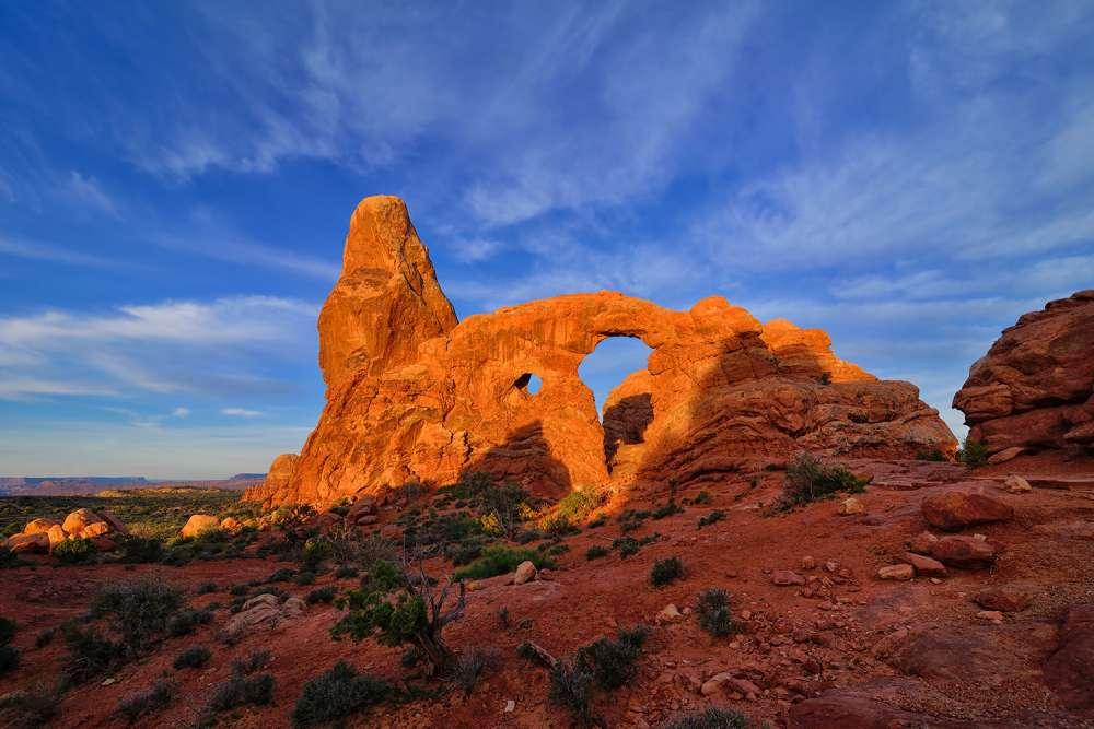 Turret Arch Landscape