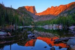 Dawn at Dream Lake