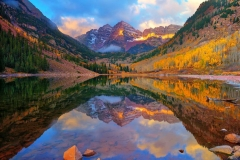 Maroon Lake Dawn