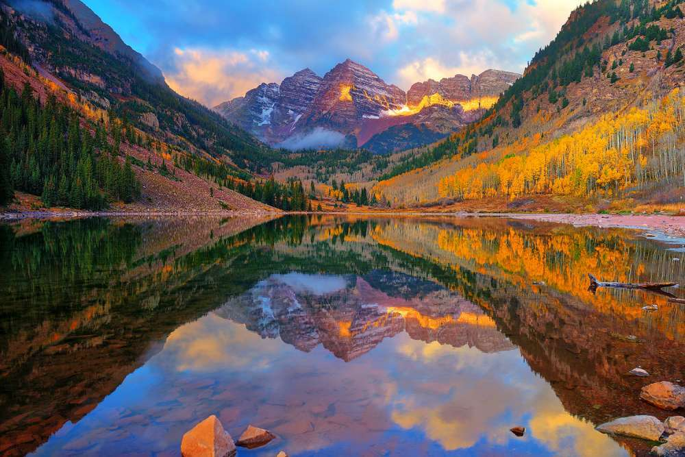 Maroon Lake Dawn