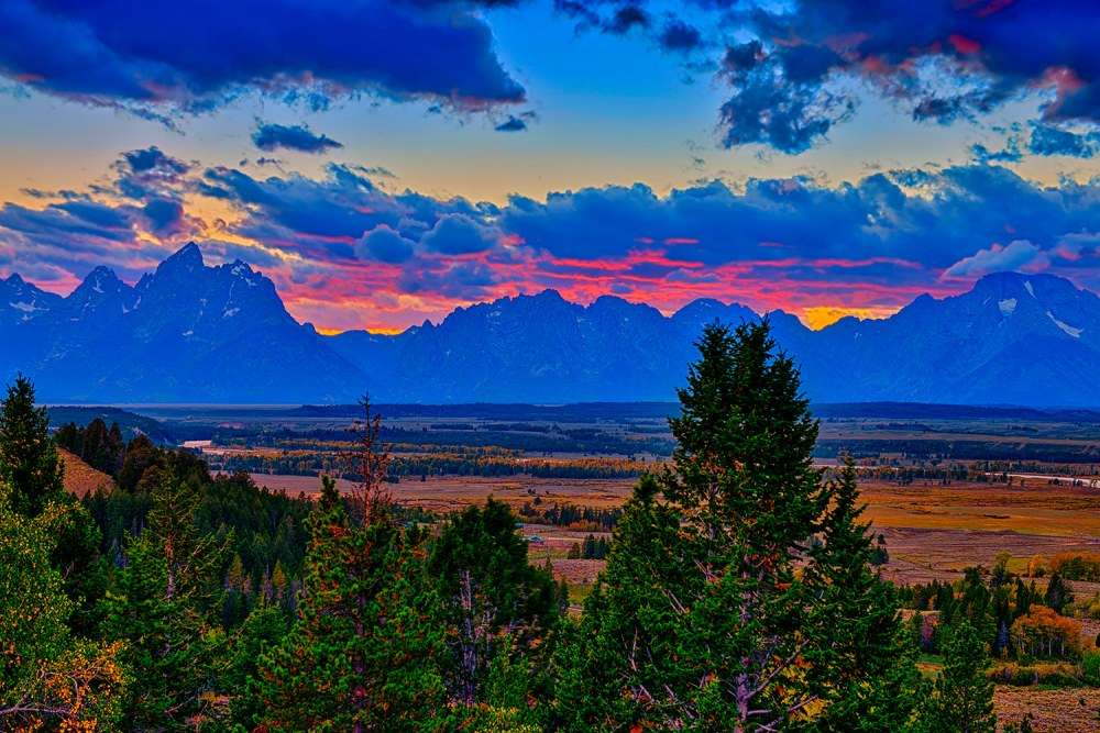 Teton Sunset Limited Edition