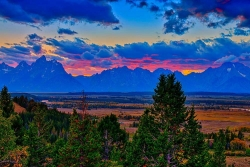 Teton Sunset Limited Edition