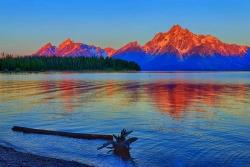 Dawn at Colter Bay