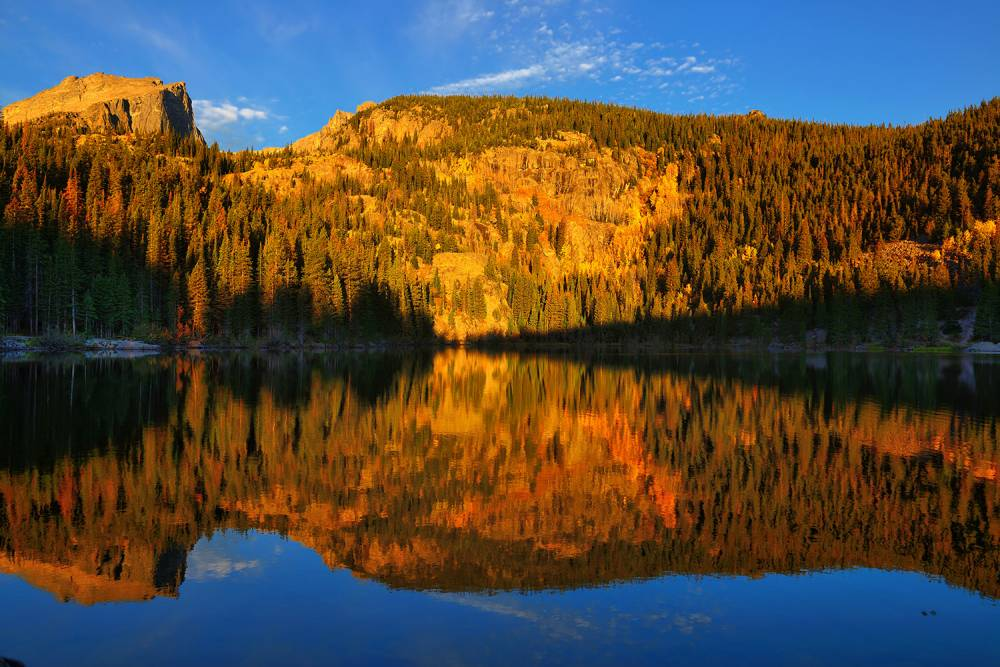 Bear Lake Morning Reflections