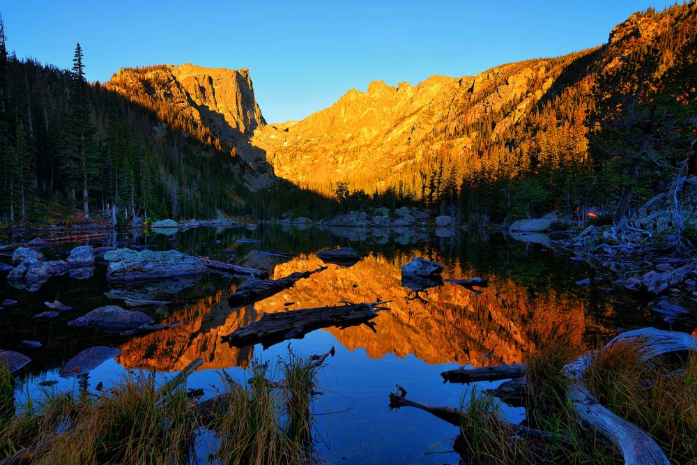 Dream Lake Dawn
