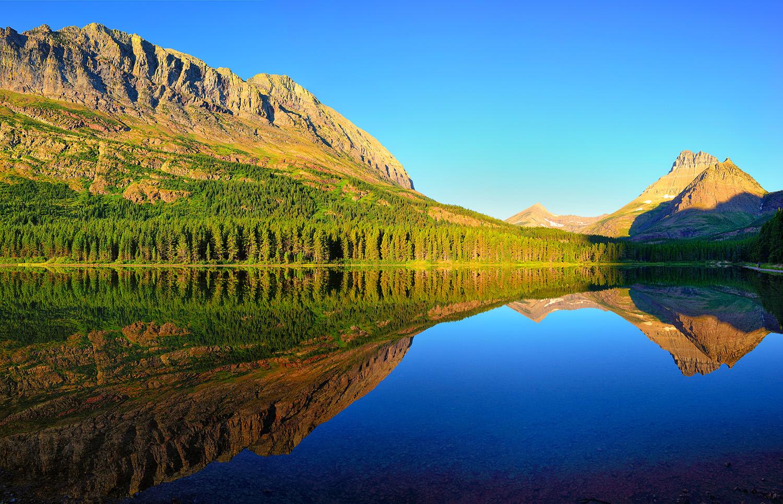 Morning Reflections at Fishercap Lake
