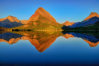 Swiftcurrent Morning Reflections