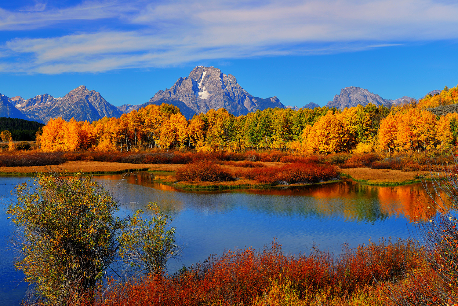 Autumn at the Oxbow