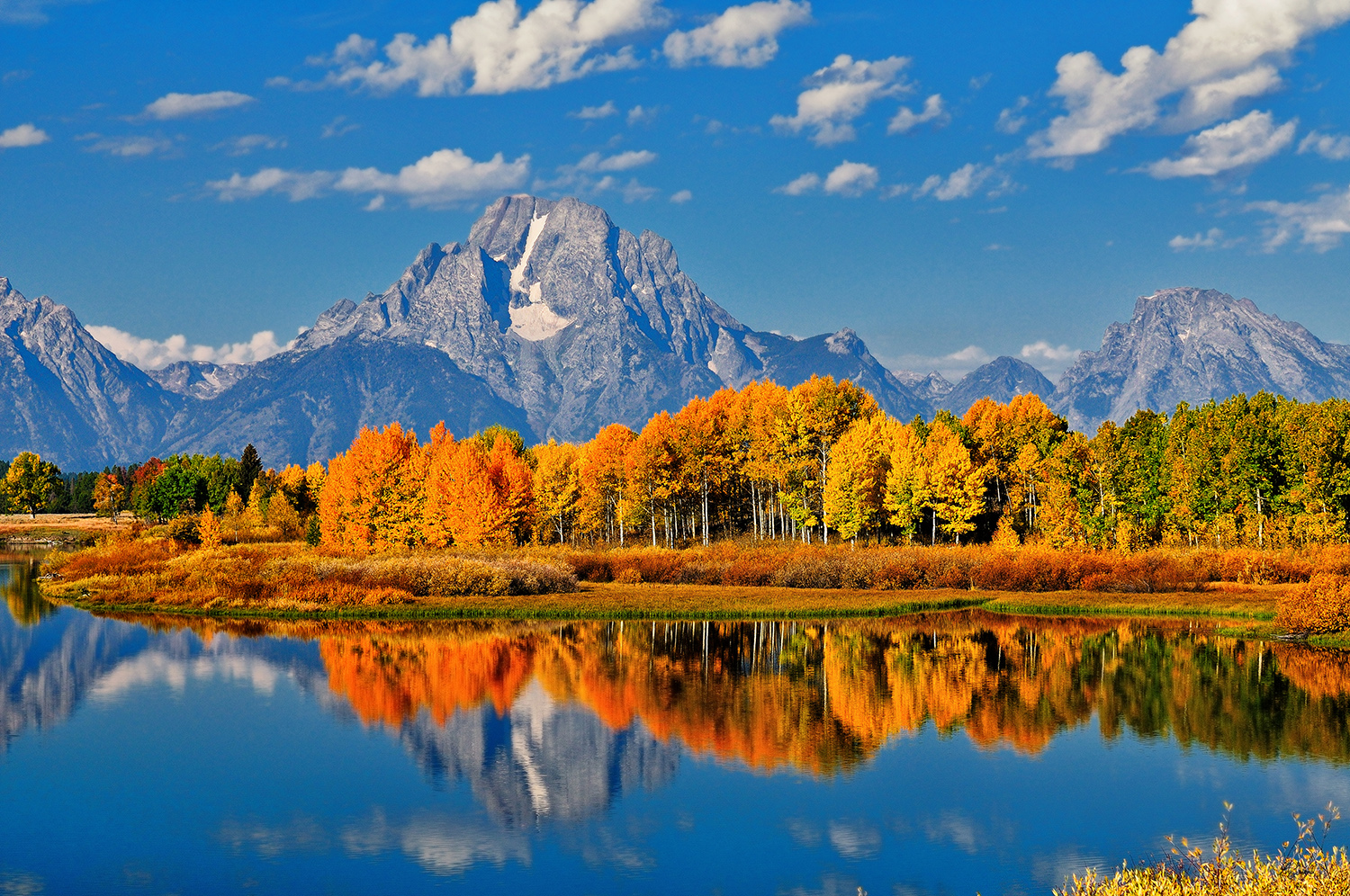 Autumn Peak at Oxbow Bend