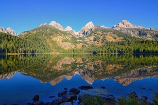 Bradley Lake Morning Reflections