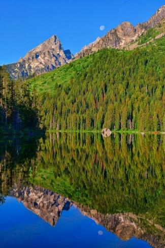 String Lake Morning Mirror