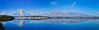 Teton Reflections Panorama