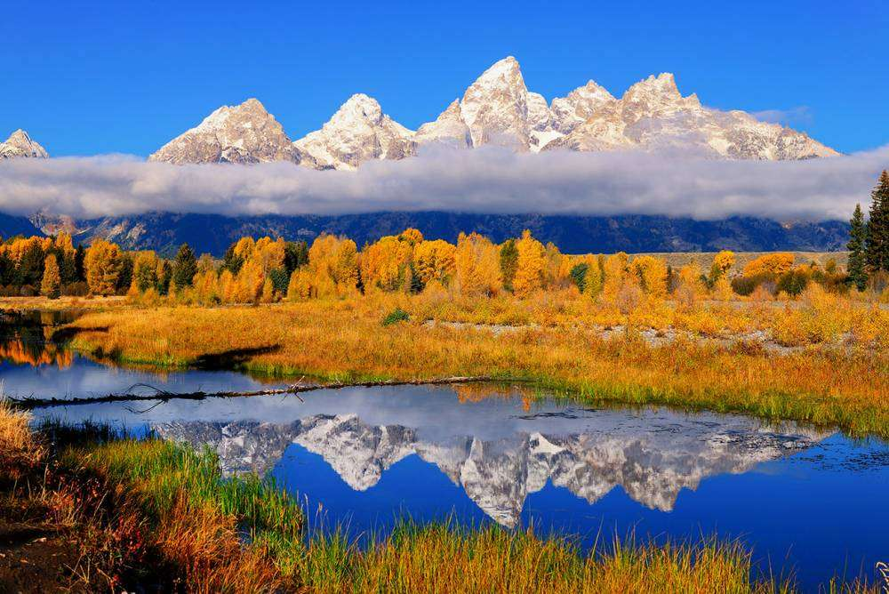 Teton Peaks Reflections
