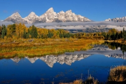 Teton Morning Reflections