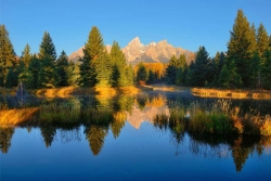 Morning Mirror at Schwabacher Landing