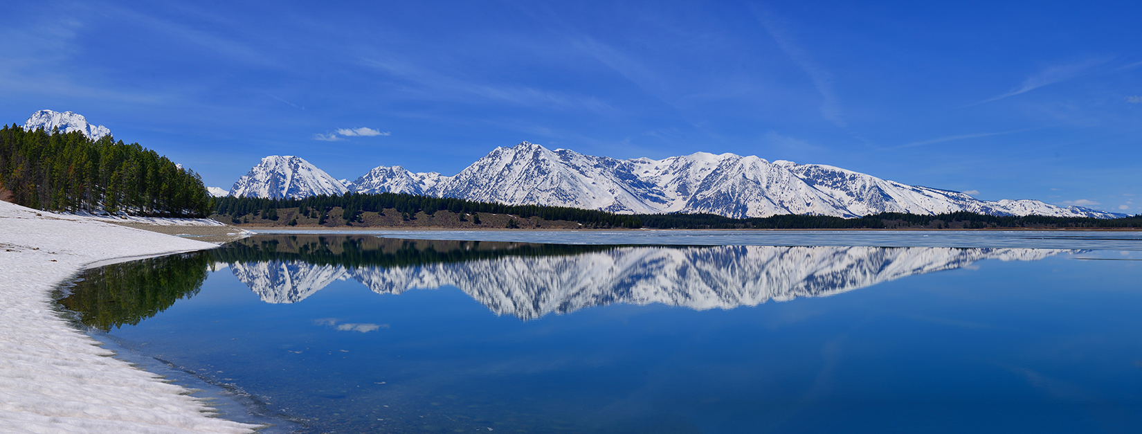 Teton End of Winter Reflections