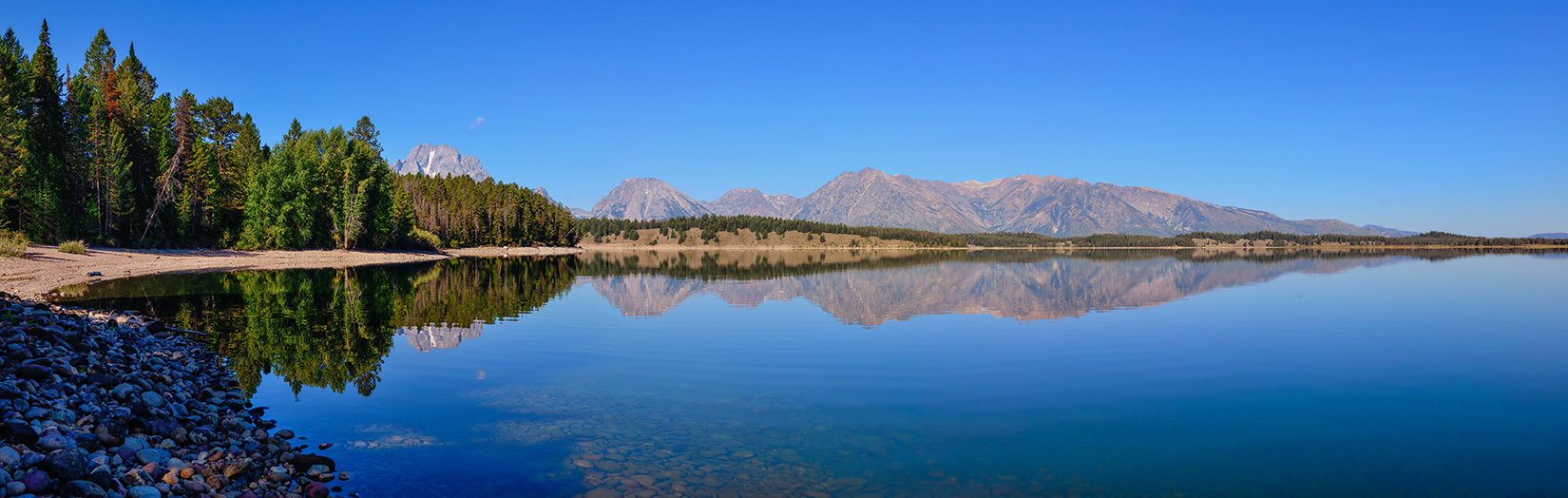 Jackson Lake Panoramic Reflections