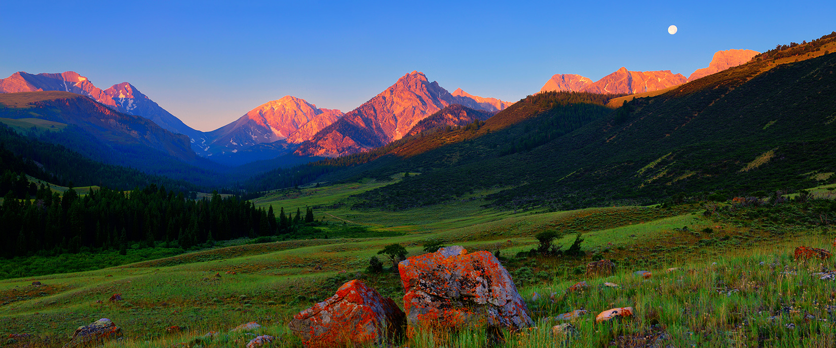 Pahsimeroi Sunrise Panorama
