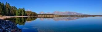 Jackson Lake Panoramic Reflections
