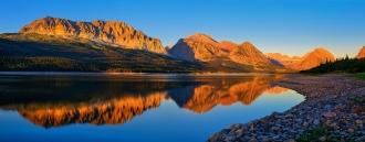 FIrst Light Across Lake Sherburne