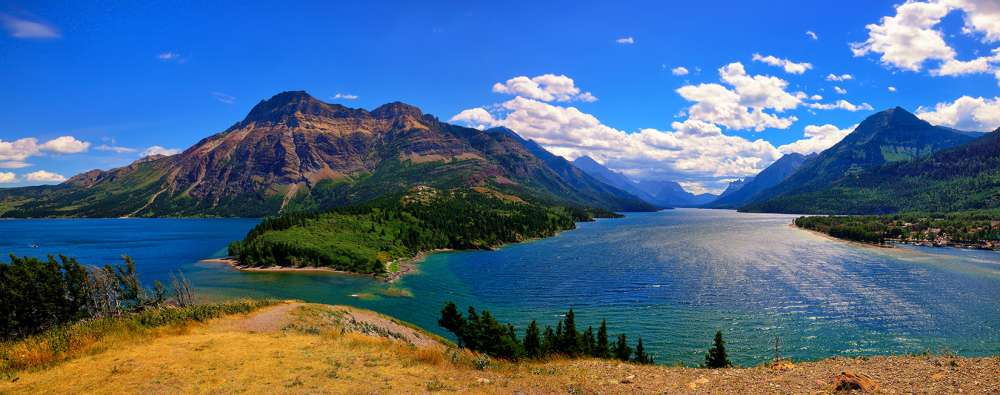 Waterton Lakes Panorama
