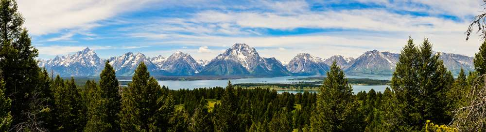 Teton June Panorama