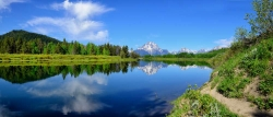 Oxbow Bend Spring Panorama