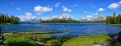 Half Moon Bay Teton Panorama
