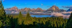 Majestic Tetons Panorama