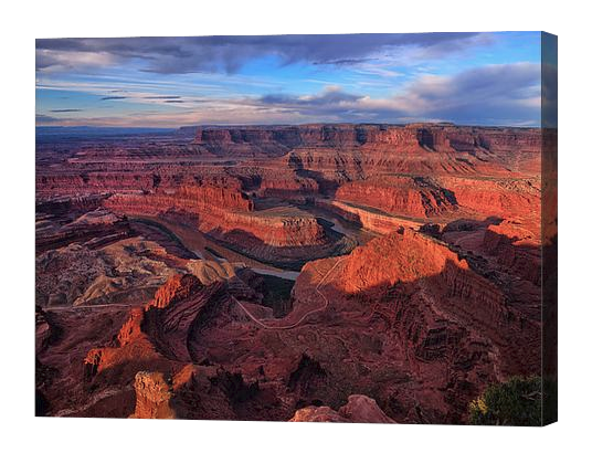 Dead Horse Point Sunrise Canvas Print