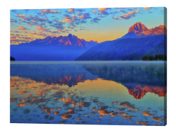 Redfish Lake Reflections Canvas Print
