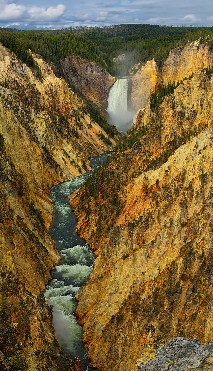 Artist Point Vertical Panorama