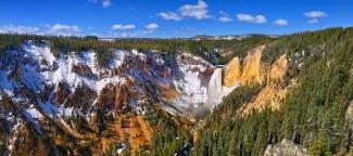 Yellowstone Canyon Panorama