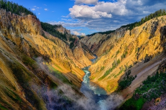 Yellowstone Canyon View