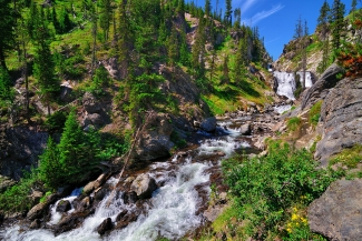 Yellowstone Mystic Falls