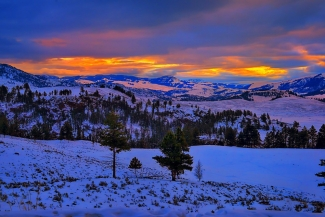 Yellowstone Winter Morning