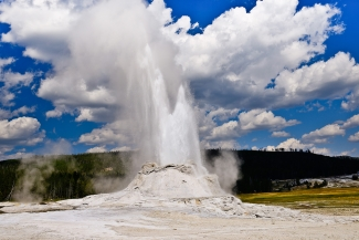 Castle Geyser Eruption