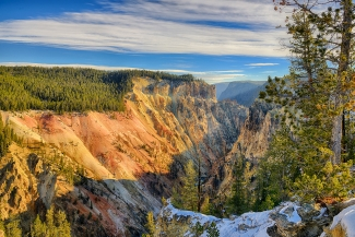 Yellowstone Canyon East View